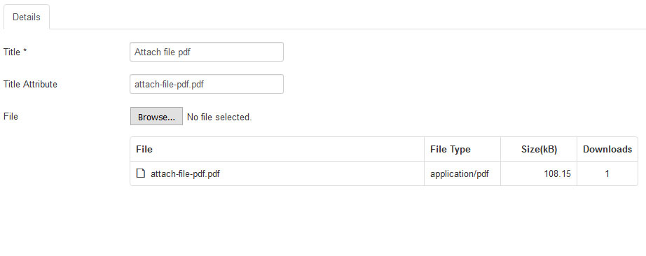 Easy to upload file