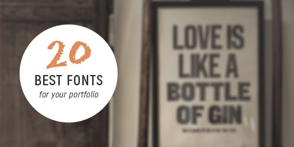 20-best-fonts-for-your-portfolio