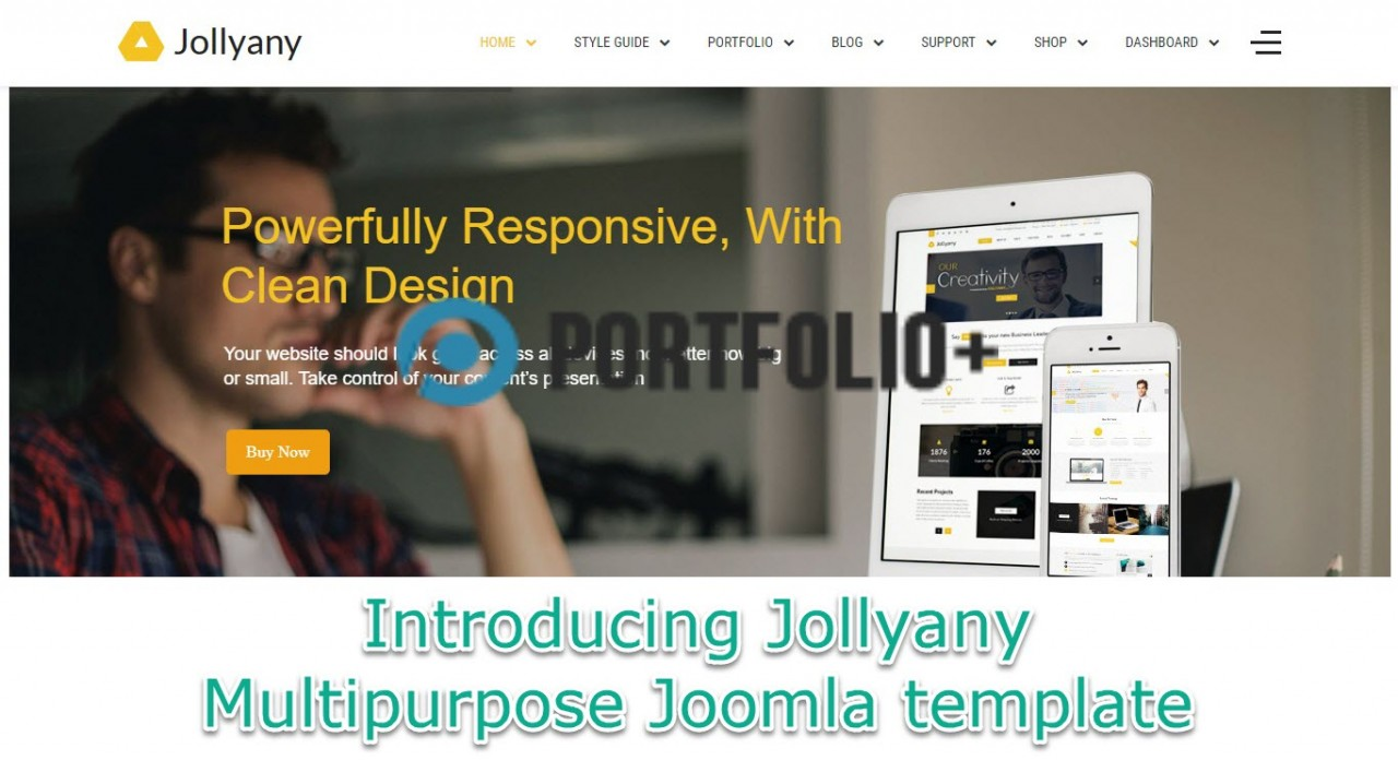 Enjoy TZ Portfolio+ Pro with stunning Jollyany 3.0.0