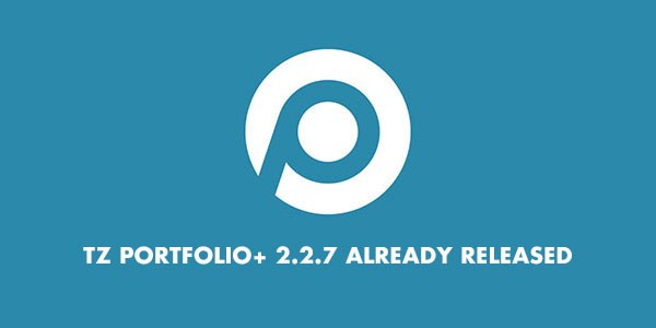 TZ Portfolio+ 2.2.7 released with important improvements
