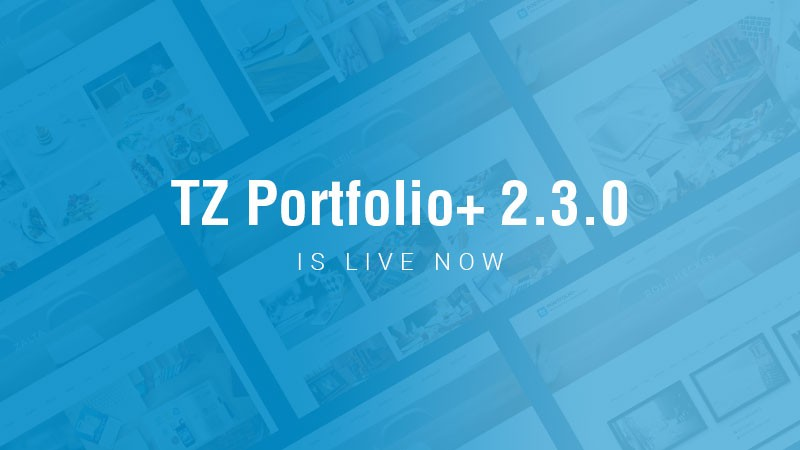 TZ Portfolio+ 2.3.0 is live now with new stuff and fixes inside