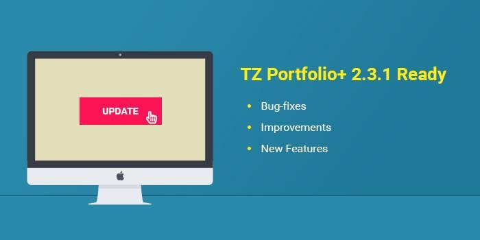 TZ Portfolio+ 2.3.1 is here with lots of improvements, fixes, and new features