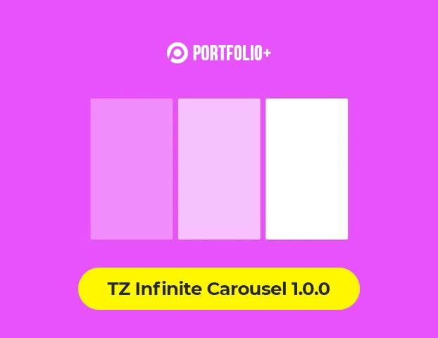 [New release] Introduce TZ Infinite Carousel 1.0.0