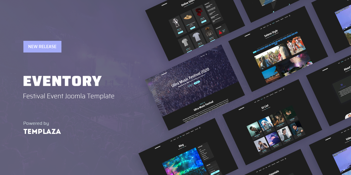 eventory-joomla-template