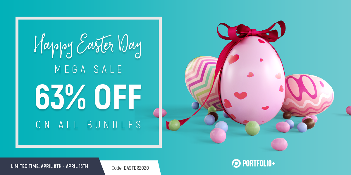 Happy Easter 2020: Super Saving with Mega Sale 63% Off