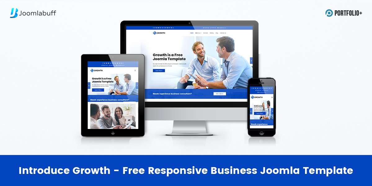 Introduce Growth - Free Responsive Business Joomla Template