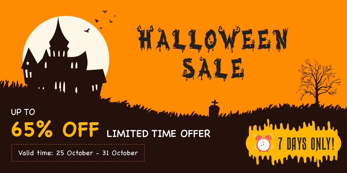 [Halloween 2020] Up To 65% OFF On All Member Subscriptions