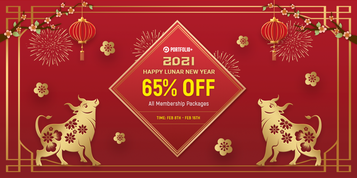 Happy Lunar New Year - 65% OFF On All Membership Packages