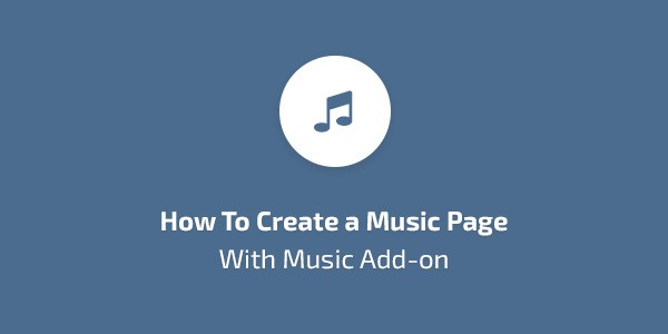 How-to-create-a-music-page-with-Music-add-on