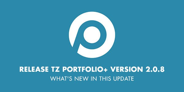 What's new in TZ Portfolio+ version 2.0.8