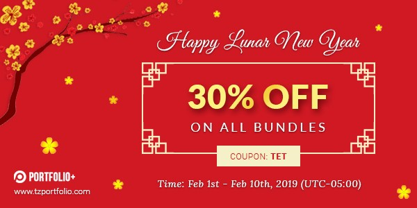 Happy new year - 30% OFF On All Bundles